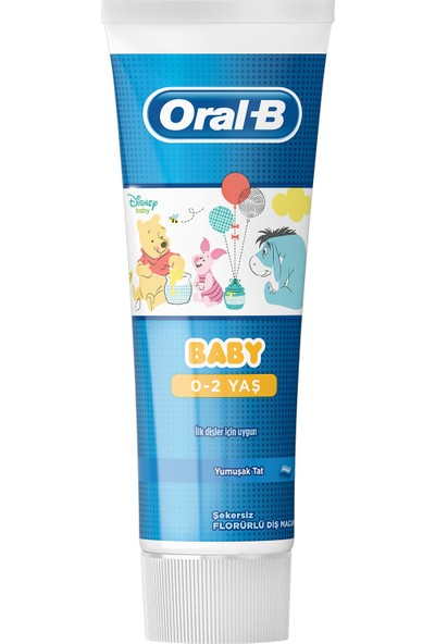 Oral-B Pro-Expert Stages Çocuk Diş Macunu Winnie the Pooh 75 ml ( 0 - 2 Yaş)