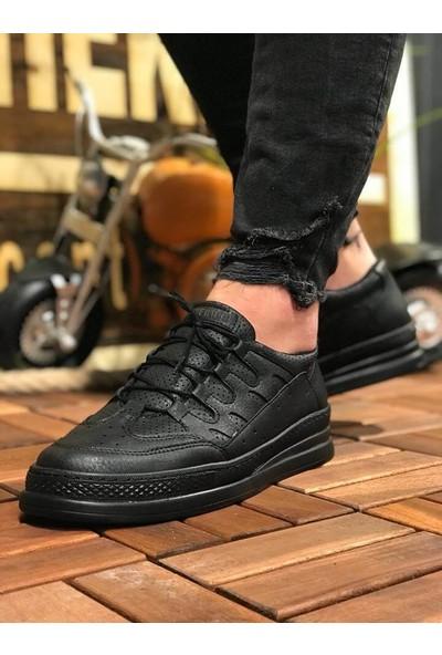 Chekich Ch040 Ipekyol Siyah Taban Erkek Ayakkabı Siyah