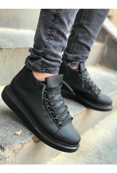 Chekich Ch258 Ipekyol Siyah Taban Erkek Ayakkabı Siyah