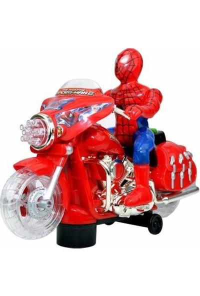 Hyd Spiderman Işıklı Sesli Hareketli Örümcek Adam Oyuncak Motor