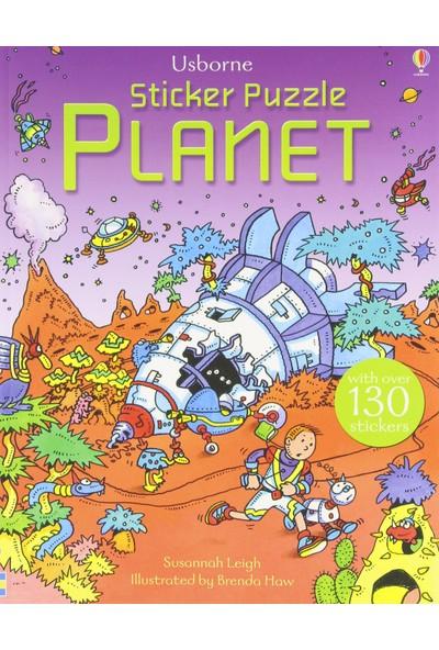 Sticker Puzzle Planet