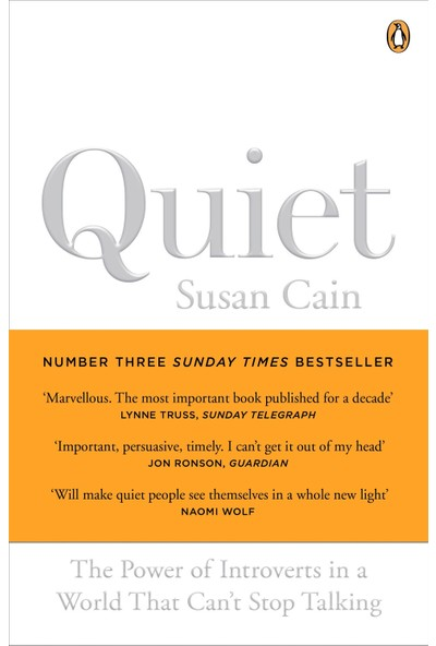 Quiet: The Power Of Introverts İn A World That Can'T Stop Talking