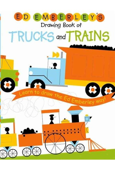 Ed Emberley'S Drawing Book Trucks And Trains