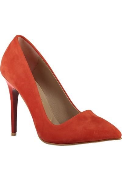 Fox Shoes Turuncu Kadın Topuklu Ayakkabı 8922151902
