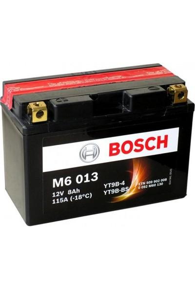 Bosch 8 Amper AGM Motosiklet Aküsü M6013
