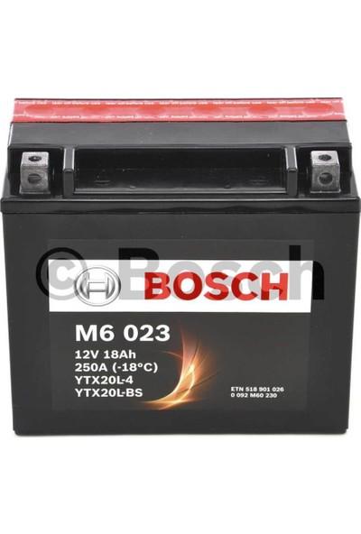 Bosch 18 Amper AGM Motosiklet Aküsü M6023