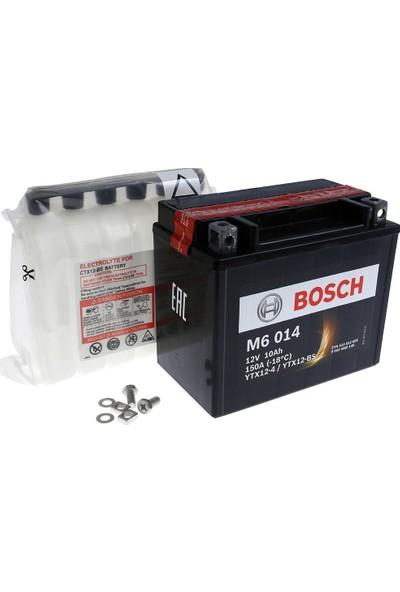 Bosch 10 Amper AGM Motosiklet Aküsü M6014