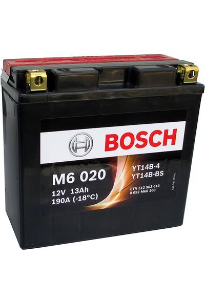 Bosch 12 Amper AGM Motosiklet Aküsü M6020