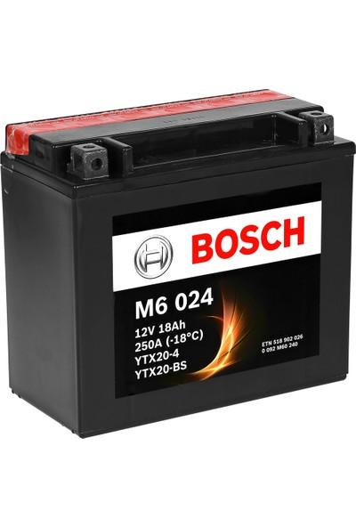 Bosch 18 Amper AGM Motosiklet Aküsü M6024