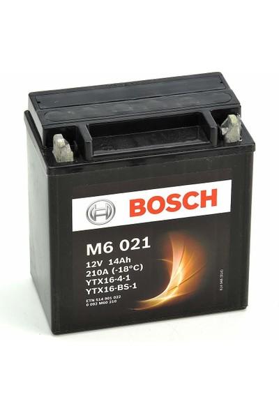 Bosch 14 Amper AGM Motosiklet Aküsü M6021