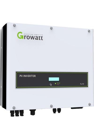 Growatt 5000V 5000 W Tam Sinus Akıllı Inverter