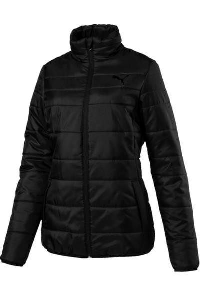 Puma Essentıals Padded Jacket Siyah Kadın Mont