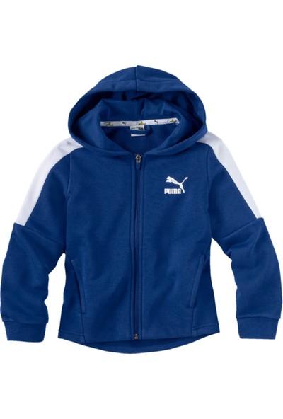 Puma Mınıons Hooded Jacket B Mavi Unisex Çocuk Mont