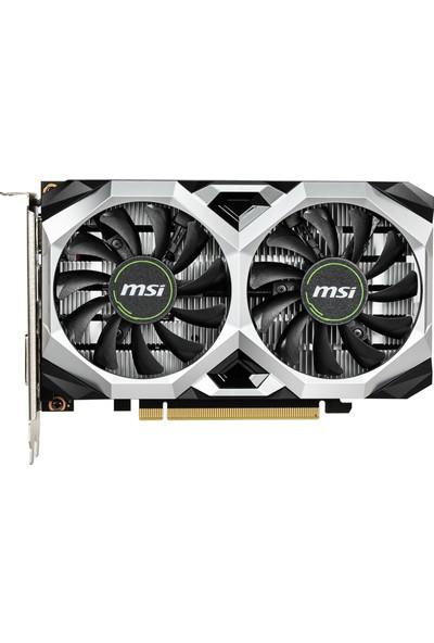 MSI VGA GeForce GTX 1650 Ventus XS 4GB OC 128Bit GDDR5 DX(12) PCI-E 3.0 Ekran Kartı ( GeForce GTX 1650 VENTUS XS 4G )