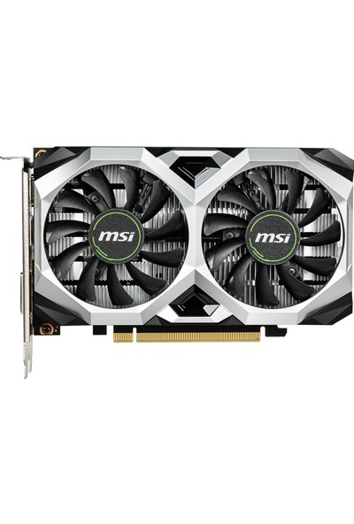 MSI Nvidia Geforce GTX 1650 Ventus XS 4G OC 4GB 128Bit GDDR5 (DX12) PCI-E 3.0x16 Ekran Kartı (GeForce-GTX-1650-VENTUS-XS-4G-OC)