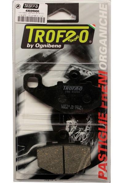 Trofeo Yarı Metalik Arka Fren Balatası (Kawasaki Zx-6R Ninja 2005-2006)