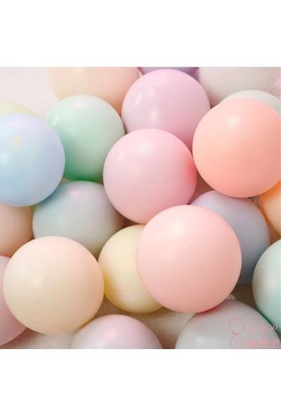 Happy Land Macaron Balon 50 Adet