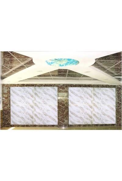 Sai̇ko 1004 Mermer Görünümlü Dekoratif Duvar Paneli 3 mm x 122 x 244 cm