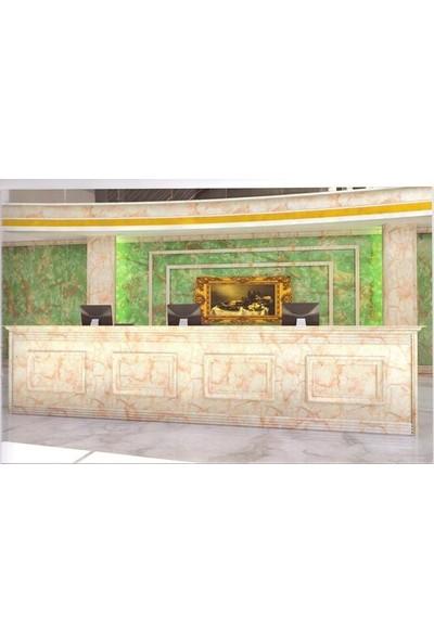 Sai̇ko 1010 Mermer Görünümlü Dekoratif Duvar Paneli 3 mm x 122 x 244 cm