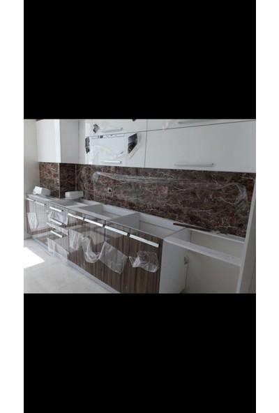 Sai̇ko 1013 Mermer Görünümlü Dekoratif Duvar Paneli 3 mm x 122 x 244 cm
