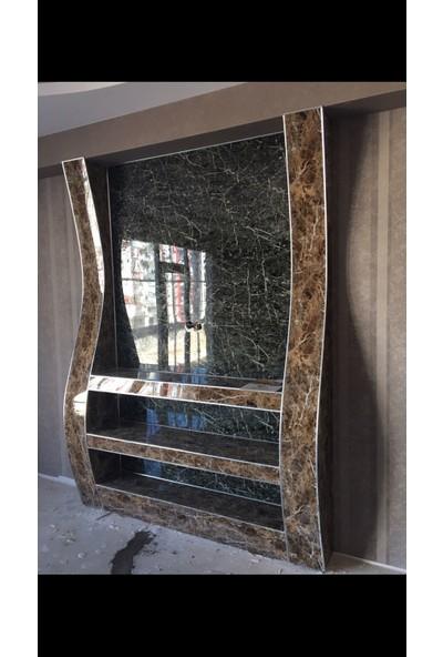 Sai̇ko 1014 Mermer Görünümlü Dekoratif Duvar Paneli 3 mm x 122 x 244 cm