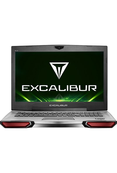 "Casper Excalibur G850.8750-81G0A Intel Core i7 8750H 16GB 1TB + 120GB SSD GTX1050 Windows 10 Home 17.3"" FHD Taşınabilir Bilgisayar"