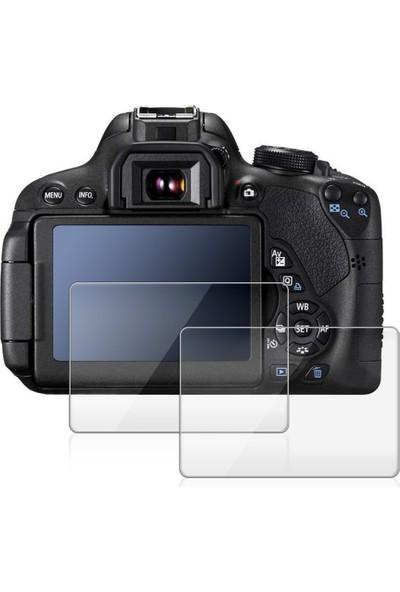 Canon Eos 100D, Rebel Sl1 İçin 2 Ad. Lcd Ekran Koruyucu