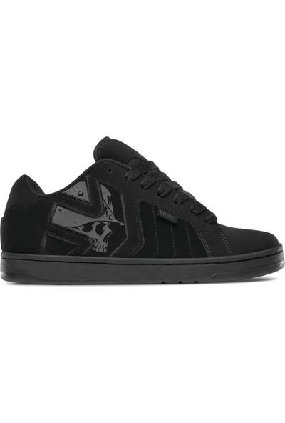 Etnies Metal Mulisha Fader 2 Blk Blk Blk Erkek Ayakkabı Siyah