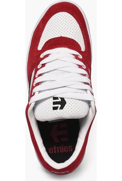 Etnies Senix Lo Black White Red Erkek Ayakkabı Kırmızı