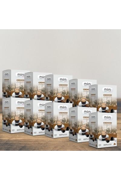 Must Espresso Italiano 10'lu Avantaj Paketi Cremoso – Dolce Gusto Uyumlu Kahve Kapsülleri