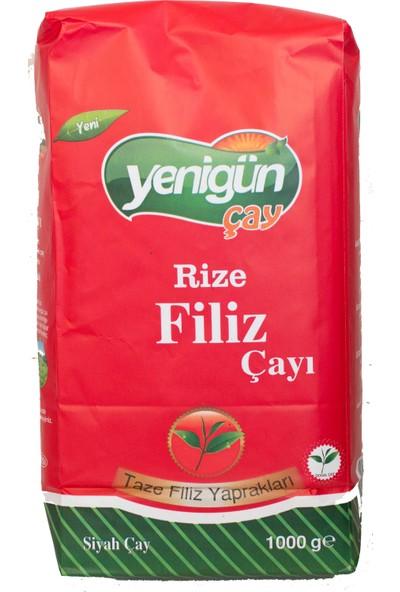 Yenigün Çay Rize Filiz Siyah Dökme Çayı 1000 gr