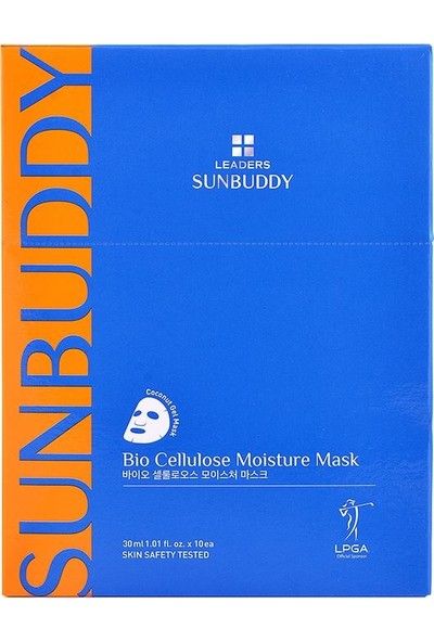 Leaders Sunbuddy Bio Cellulose Moisture Mask