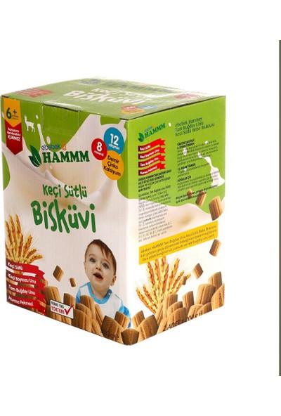 Hammm Keçi Sütlü Bebek Bisküvisi 400 gr