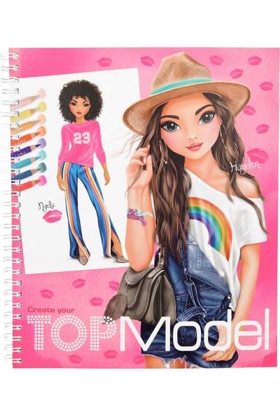 Topmodel Tasarım Boyama Kitabı 10203 - Andrea Levy