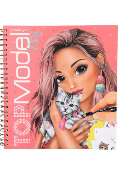 Topmodel Kitty Boyama Kitabı 10469 - Andrea Levy