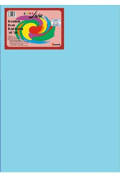 Color Liva Mondi Fon Kartonu Mavi 50X70 50'Li Paket