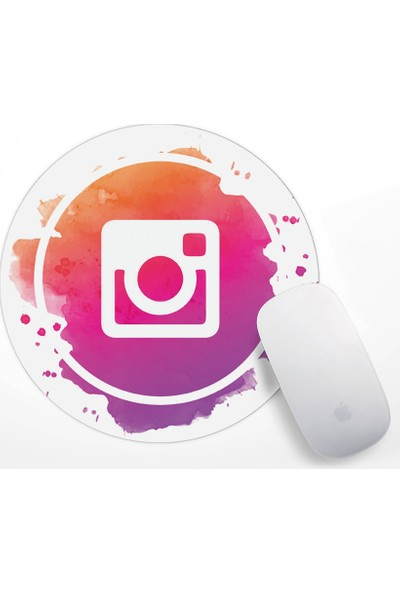 If Dizayn İnstagram Logo Mouse Pad