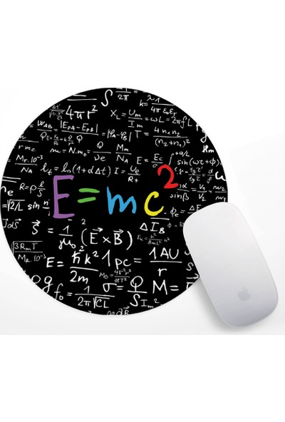 If Dizayn Einstein E=mc2 Formül Mouse Pad