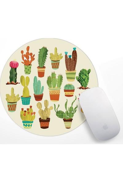 If Dizayn Kaktüs Tasarım Mouse Pad