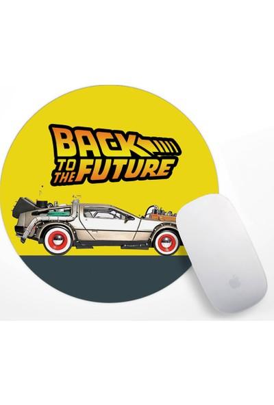 If Dizayn Geleceğe Dönüş Mouse Pad