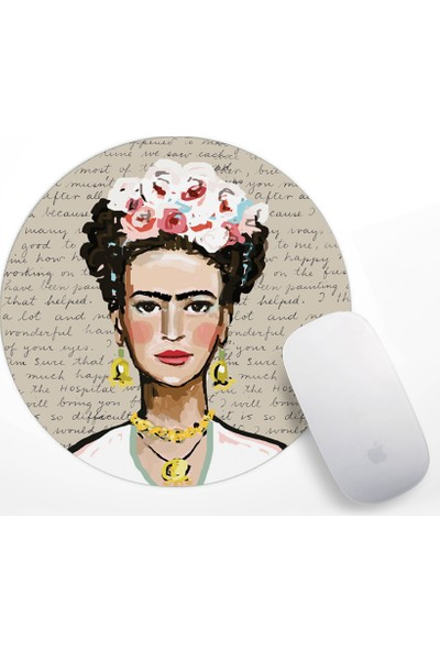 If Dizayn Frida Kahlo Mouse Pad
