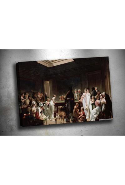 Caddeko op17 Bilardo Sanat Yağlı Boya Reprodüksiyon Kanvas Tablo 70 x 100 cm