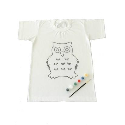Joy Toys Baykus Desenli Tisort Boyama Seti 8 9 Yas Fiyati