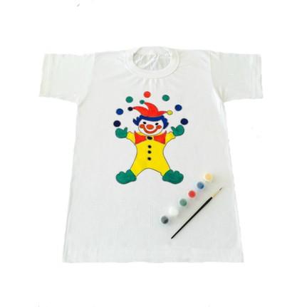 Joy Toys Palyaco Desenli Tisort Boyama Seti 4 5 Yas Fiyati
