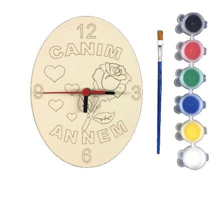 Joy Toys Canım Annem Saat Boyama Seti 6lı Boyafırça Fiyatı