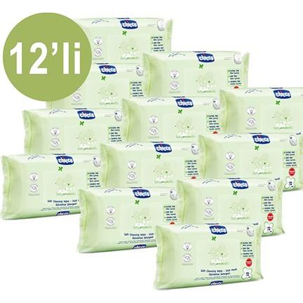 Chicco Baby Moments 72li Islak Mendil 12li Paket 864 Fiyatı