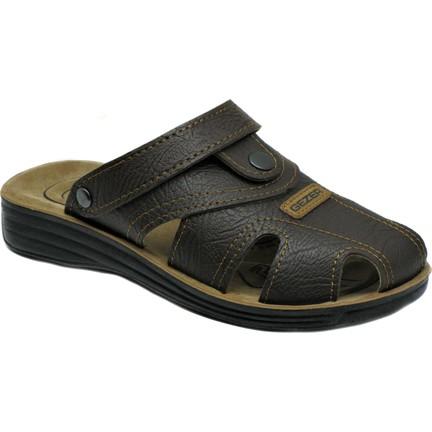 6fcfadc1347a6 Gezer 9878 4 Noktalı Kapalı Erkek Terlik Sandalet Yazlık Ayakkabı