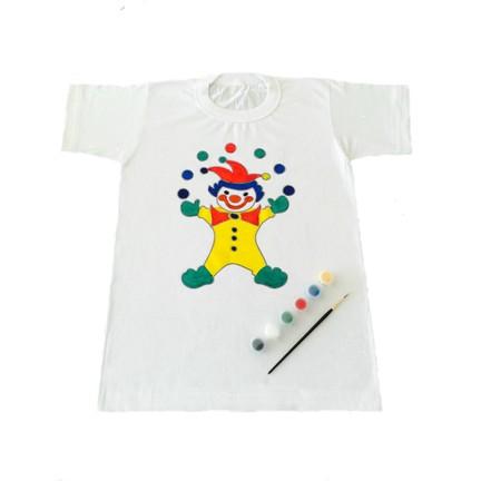 Joy Toys Palyaço Desenli Tişört Boyama Seti 10 11 Yaş Fiyatı