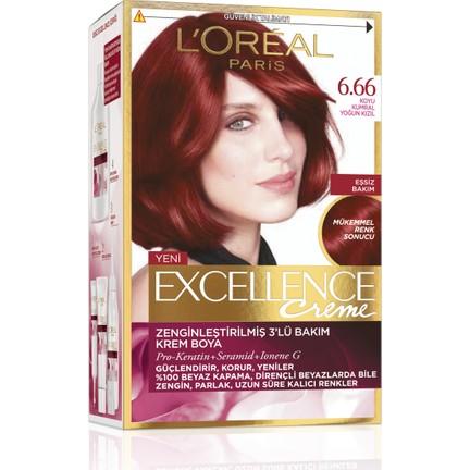 Loréal Paris Excellence Creme Saç Boyası 666 Koyu Kumral Fiyatı
