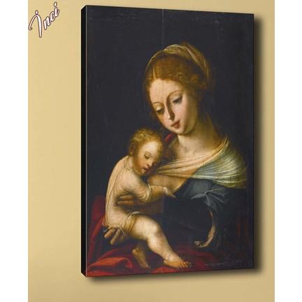 Caddeko Yb33 Anne Ve Bebek Yagli Boya Reproduksiyon Kanvas Fiyati